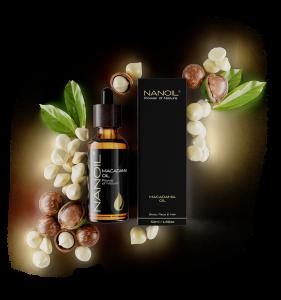 Nanoil Macadamiaöl für Körperpflege